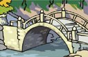 website image and bridge drawing